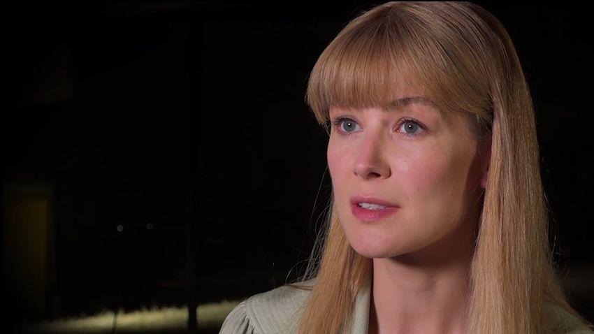 Rosamund Pike is Sandy Crowder